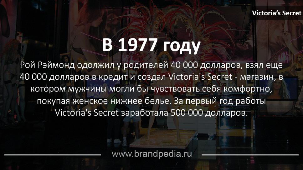 Виктория сикрет история бренда работа на себя способы заработка для девушек