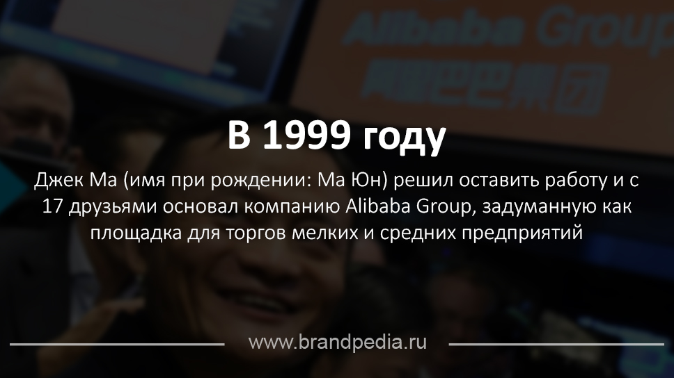 cf01a440036b0 История бренда Alibaba | Brandpedia - история брендов и шедевры рекламы