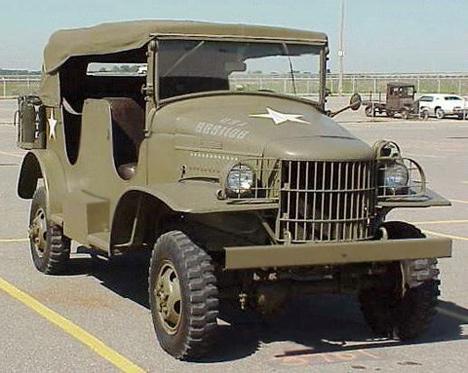 Dodge WC23 1941 года, один из представителей военных машин семейства WC.